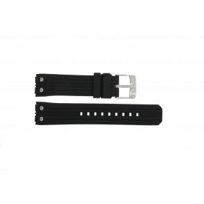 Horlogeband Lotus 15969-1 Rubber Zwart 23mm