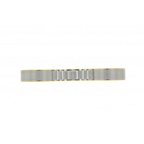 Horlogeband 16BI Staal Zilver 16mm