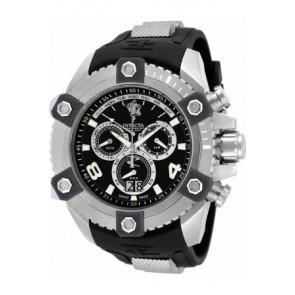 Horlogeband Invicta 17981.01 Rubber Zwart