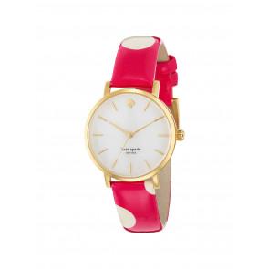 Horlogeband Kate Spade New York 1YRU0224 Leder Roze