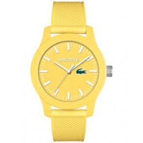 Lacoste horlogeband 2010774 / LC-79-1-47-2570 Rubber Geel 21mm