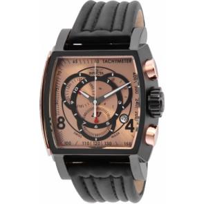 Horlogeband Invicta 20253.01 / S1 Rally Leder Zwart
