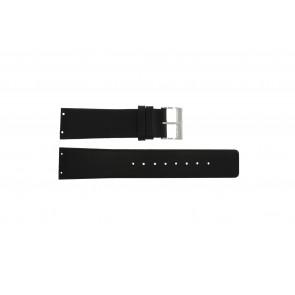 Horlogeband Skagen 233XXLSLB Leder Zwart 23mm
