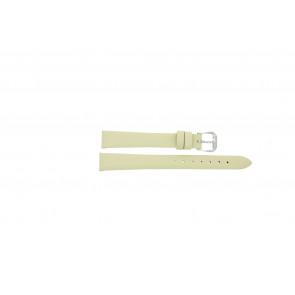 Horlogeband Condor 241R.00.12 Leder Crèmewit 12mm