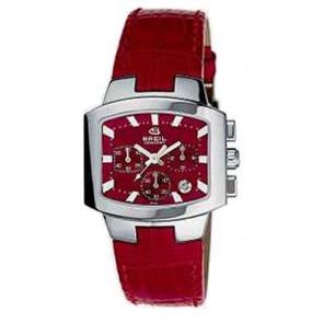 Horlogeband Breil 2519750616 Leder Rood