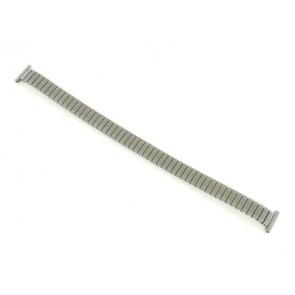 Horlogeband 381273 Staal Zilver 12mm