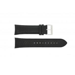 Horlogeband Swiss Military Hanowa 6.4156.04.007 Leder Zwart