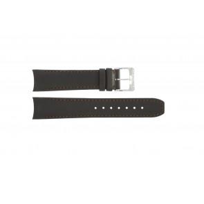 Horlogeband Raymond Weil 4899 / SV2002-4899-C8 Leder Bruin 20mm
