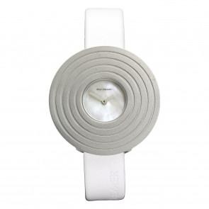 Horlogeband Rolf Cremer 499607-SOLEA Leder Wit 14mm