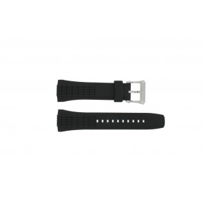 Horlogeband Seiko 4LJ7MBR Rubber Zwart 26mm
