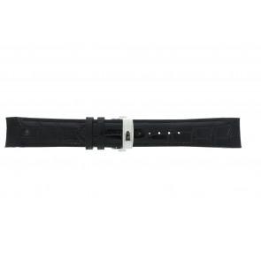Horlogeband Roamer 508837-41-15-05 Leder Zwart 22mm