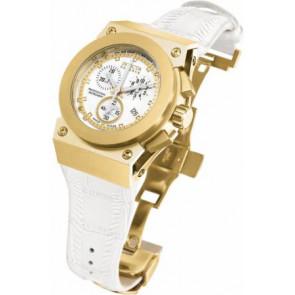 Horlogeband Invicta 5574.01 Leder Wit