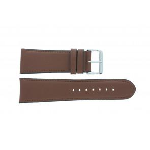 Horlogeband 61215B.23.26 Leder Bruin 26mm + standaard stiksel