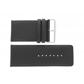 Horlogeband 61215EB.27.40 Leder Donkerbruin 40mm + standaard stiksel