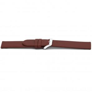 Horlogeband Universeel C706 Leder Rood 12mm