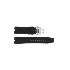 Horlogeband Roamer 750837 Rubber Zwart