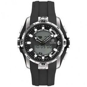 Horlogeband Roamer 770990-41-55-07 Rubber Zwart