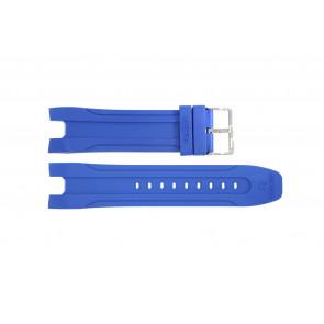 Horlogeband Roamer 770990-41-55-07LB Rubber Lichtblauw