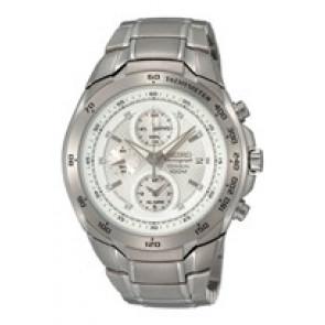 Horlogeband Seiko 7T62-0HR0 (SNAB87P1 ) Staal