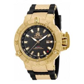 Horlogeband Invicta 80423 (80423.01) Rubber Zwart