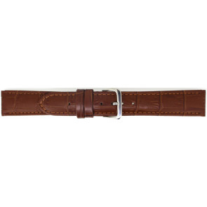 Horlogeband Universeel 805.03.22 Leder Lichtbruin 22mm