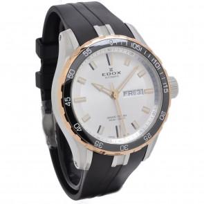 Horlogeband Edox 88002 357RCA Rubber Zwart