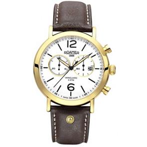 Horlogeband Roamer 935951-48-24-09 Leder Bruin