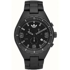 Horlogeband Adidas ADH2523 Kunststof/Plastic Zwart 10mm