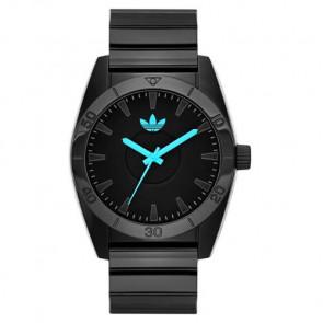 Horlogeband Adidas ADH2896 Kunststof/Plastic Zwart 22mm
