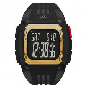 Horlogeband (Band + Kastcombinatie) Adidas ADP6135 Kunststof/Plastic Zwart