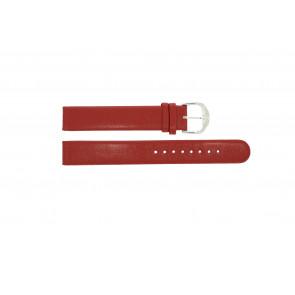 Mondaine horlogeband BM20044 / FE3116.30Q.XL Leder Rood 16mm
