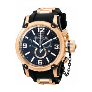 Horlogeband Invicta 11363.01 Rubber Rosé