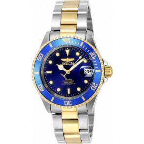 Horlogeband Invicta 8928OB.01 / 17045.01 Staal Bi-Color
