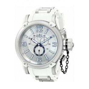 Horlogeband Invicta 11365.01 Rubber Wit