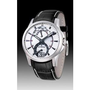 Horlogeband Candino C4387-2 Leder Zwart 22mm