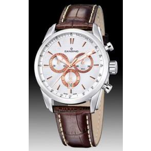 Horlogeband Candino C4408/1 Leder Bruin
