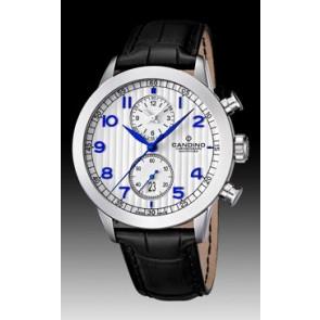 Horlogeband Candino C4505 Leder Zwart