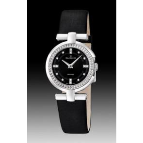 Horlogeband Candino C4560-2 Leder Zwart