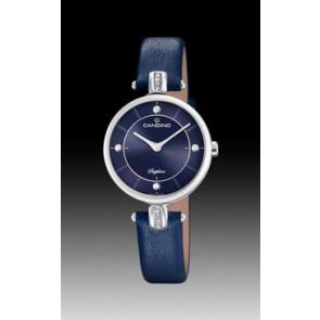 Horlogeband Candino C4658-3 Leder Blauw
