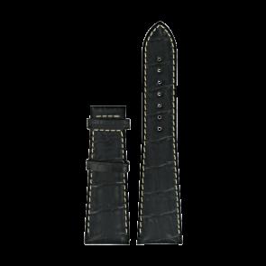 Horlogeband Certina C610014032 XL Leder Zwart 23mm