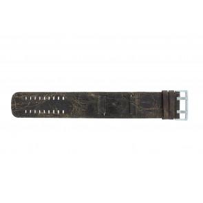 Horlogeband Camel BC51072 Leder Bruin 24mm