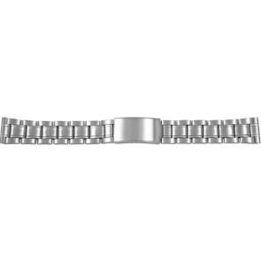 Horlogeband CMA54-18 Staal Zilver 18mm