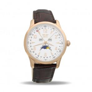 Davis 1506 Analoog Heren Quartz horloge