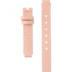 Horlogeband Dolce & Gabbana DW0497 Leder Roze 8mm