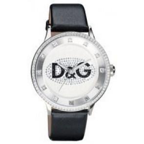 Horlogeband Dolce & Gabbana DW0503 Leder Zwart
