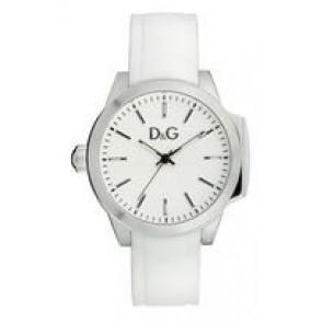 Horlogeband Dolce & Gabbana DW0746 Rubber Wit 18mm