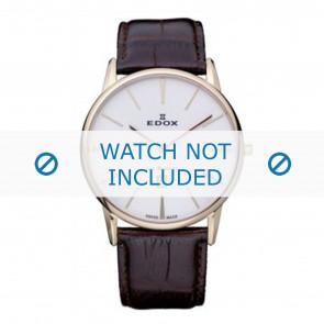 Horlogeband Edox 26023-37R-BR Leder Bruin 22mm