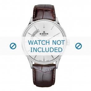 Horlogeband Edox 83010-3B-AIN Leder Bruin 22mm