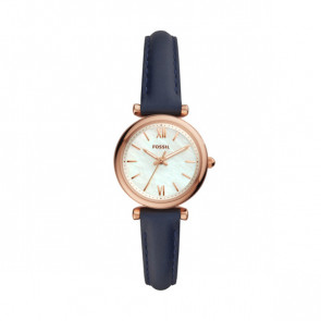 Horlogeband ES4502 Leder Blauw