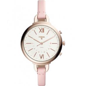 Horlogeband Fortis FTW5023 Leder Roze 7mm